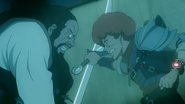 Favaro and Amon fighting
