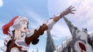 Jeanne ordering an attack on Azazel's castle
