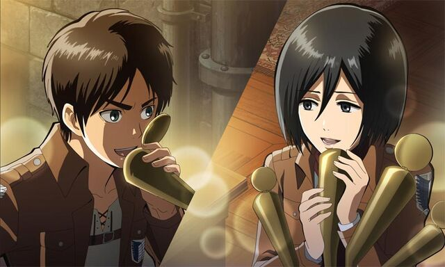 File:Eren and Mikasa.jpg