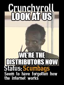 Crunchyroll scumbags