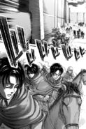 Squad Levi advances