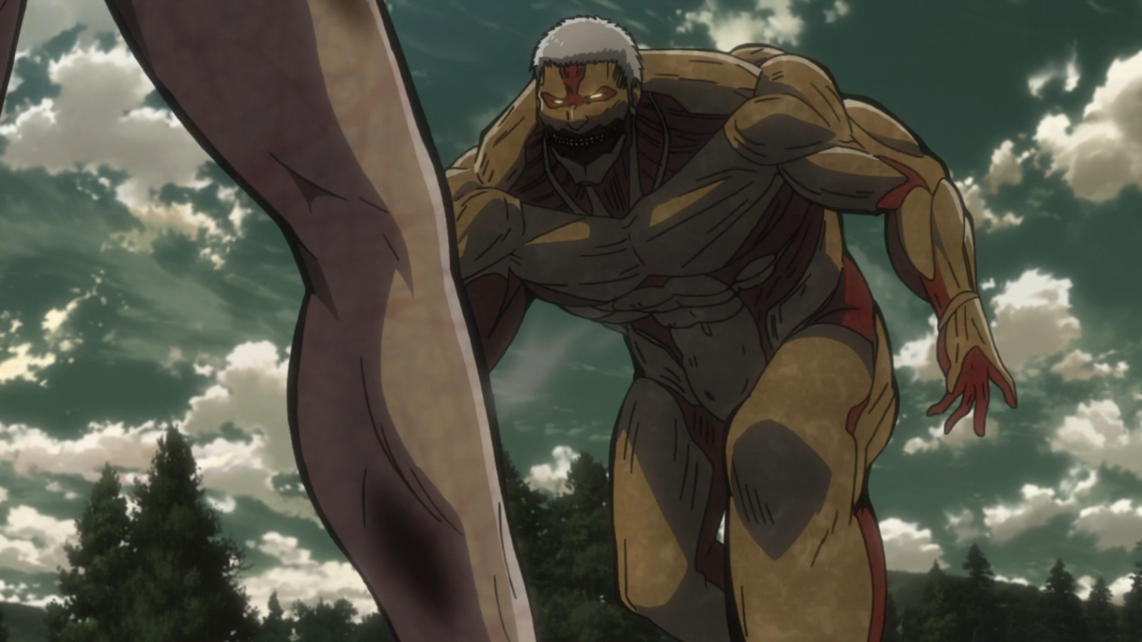 Image - The Armored Titan charges Eren.png | Attack on Titan Wiki | FANDOM powered by Wikia