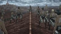 Mikasa displays her strength