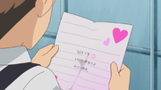 Jean finds a love letter