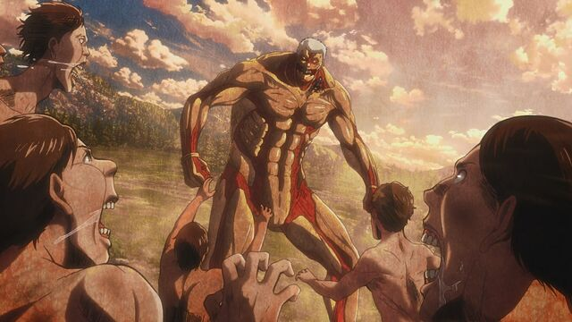 File:Titans charge at the Armored Titan.jpg