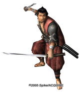 Akame samurai boss