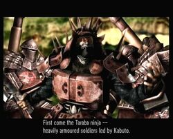 Kabuto and the Taraba