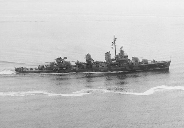 File:USS Fletcher (DD-445) off New York, 1942.jpg