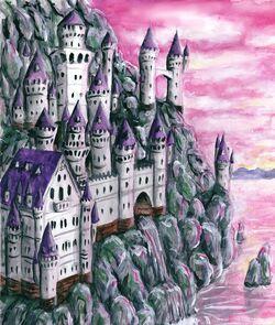 Spectre Bark Rock Castle