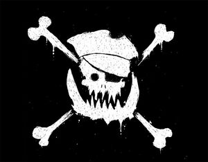 The Orc Pirate's Jolly Roger