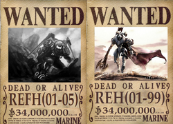 REH and REFH Wanted Poster