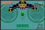 Vaati final boss zelda minish cap gba