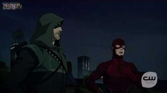 Vixen- Oliver finds out Barry and Felicity kissed