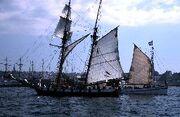 Black-schooner-Brest-2000-tall-ship-festival-Brittany-France-1-BG
