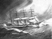 File-Four masted barque DUNDONALD of Kerr Newton and Co