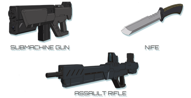 File:Submachine Gun-Knife-Assault Rifle.png