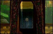 Door to Funeral Rites Room From Shaman
