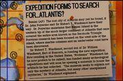 Atlantis Map Note