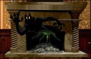 Ash Ixupi In Fireplace