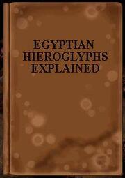 EgyptianHieroglyphsExplainedBook