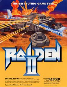 RaidenII arcadeflyer