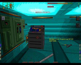 SS1 Control Pedestal Secret