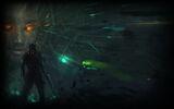System Shock 2 Steam Background Confrontation