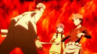 Sōma tempts Shinomiya (anime)
