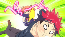Yūki slaps Sōma