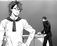 Dōjima acknowledges Megumi's skills