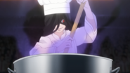 Nao boils her black Roux (anime)