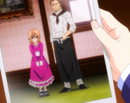 Young Erina with Joichiro photo (anime)