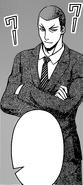 Dojima congratulates Akira Hayama