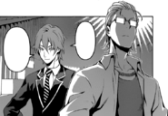 Satoshi taunting Etsuya