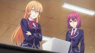 Shokugeki no Soma (Food Wars) - Entrance test , Soma beats Erina's god tongue!!!
