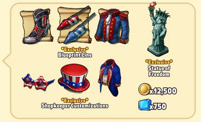 Patriot Package Contents