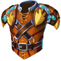Vests Gold Stitch
