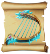 Music Frozen Harp Blueprint