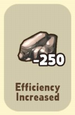 EfficiencyIncreased-250Iron