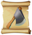 Axes Hand Axe Blueprint.png