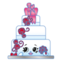 Wendy Wedding Cake 3-008