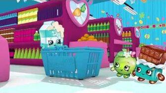 "Shopkins Cartoon - Episode 4 ""Choosy"""