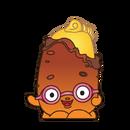 Peely potato art