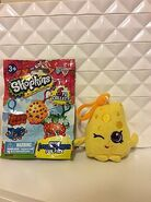 Shopkins plush hanger UNOFFICIAL PIC chee zee