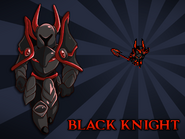 Body Swap Black Knight Card