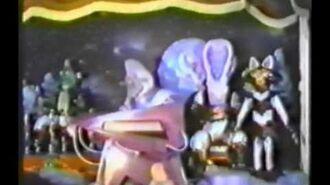 1992 Demo of CEI Animatronics
