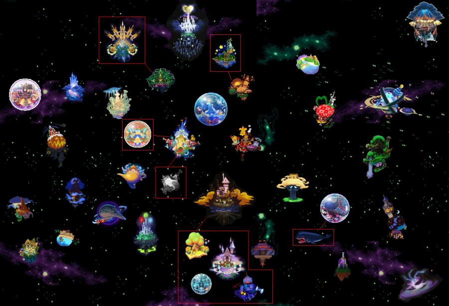 image kingdom hearts worlds map by ps2105 d2bku0f showdown