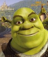 Shrek smiling