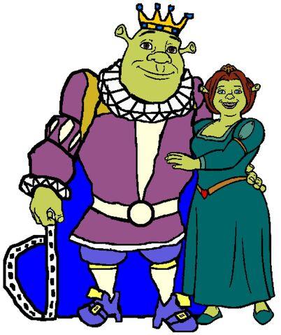 File:King Shrek & Queen Fiona.jpg