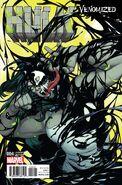 Hulk Vol 4 4 Venomized Variant